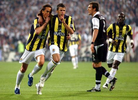 Derbiden unutulmaz fotoğraflar (Fenerbahçe)