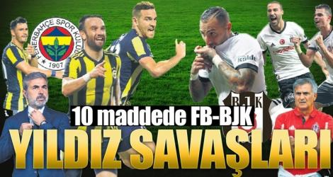 Fenerbahçe - Beşiktaş derbisi öncesi kritik 20 madde