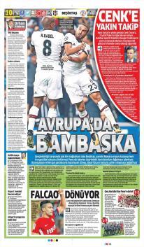 Günün Beşiktaş Manşetleri (16 Ekim)