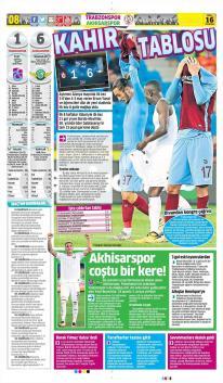 Günün Trabzonspor Manşetleri! (16 Ekim)