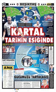 Günün Beşiktaş Manşetleri (17 Ekim)