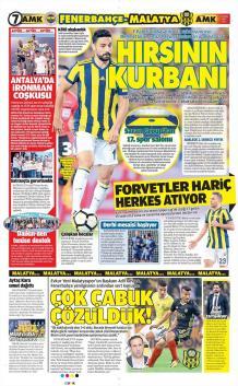 Günün Fenerbahçe Manşetleri (17 Ekim)
