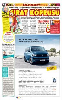 Günün Galatasaray Manşetleri (17 Ekim)
