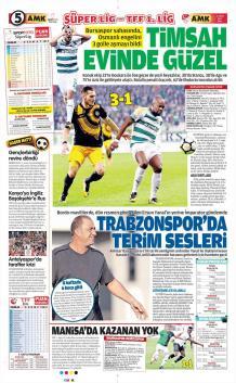 Günün Trabzonspor Manşetleri! (17 Ekim)