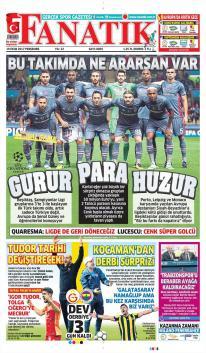 Günün Beşiktaş Manşetleri (19 Ekim)
