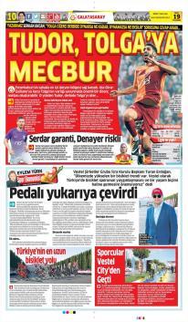 Günün Galatasaray Manşetleri! (19 Ekim)