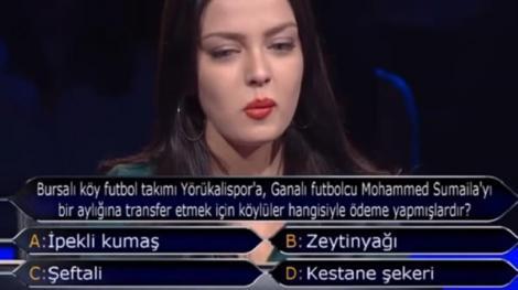 Kim milyoner olmak ister yarışmasında çuvallayanlar
