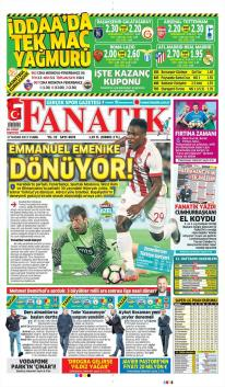 Günün Fenerbahçe Manşetleri! (17 Kasım)