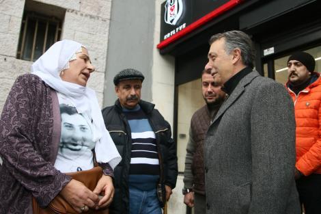Beşiktaş, Vodafone Park şehitlerini birinci yıldönümünde dualarla andı