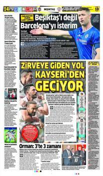 Günün Beşiktaş Manşetleri! (10 Aralık)