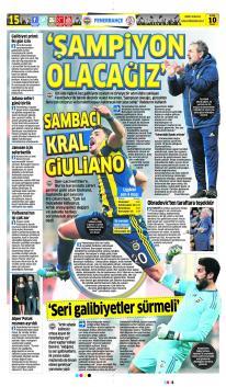 Günün Fenerbahçe Manşetleri! (10 Aralık)