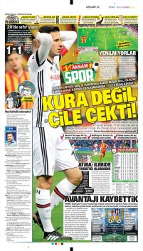 Beşiktaş gazete manşetleri - 11 Aralık