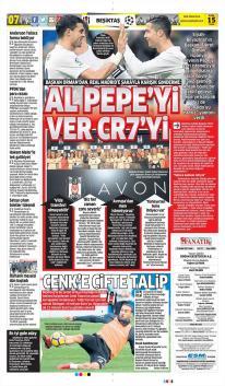 Günün Beşiktaş Manşetleri! (15 Aralık)