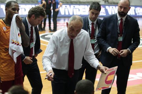 Beşiktaş - Galatasaray basketbol karşılaşmasından fotoğraflar