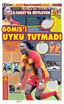 Galatasaray gazete manşetleri - 16 Aralık