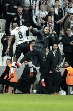 Beşiktaş'ın Osmanlıspor maçından görülmesi gereken 20 sevinç fotoğrafı