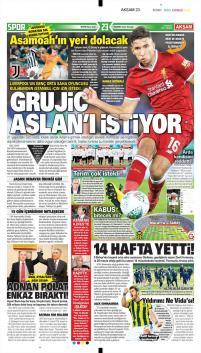Galatasaray gazete manşetleri - 17 Aralık