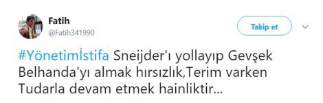 Galatasaray taraftarından Igor Tudor'a gelen 21 tepki