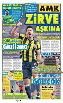 Günün Fenerbahçe Manşetleri (18 Aralık)