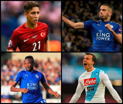 Süper Lig'de transferi muhtemel 20 isim