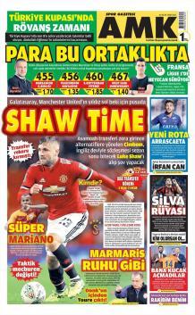 Galatasaray gazete manşetleri - 16 Ocak