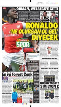 Beşiktaş gazete manşetleri - 17 Ocak