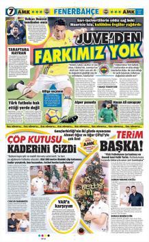Fenerbahçe gazete manşetleri - 19 Ocak