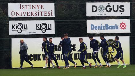 Fenerbahçe'de Trabzonspor maçı hazırlıkları başladı / 21 Ocak