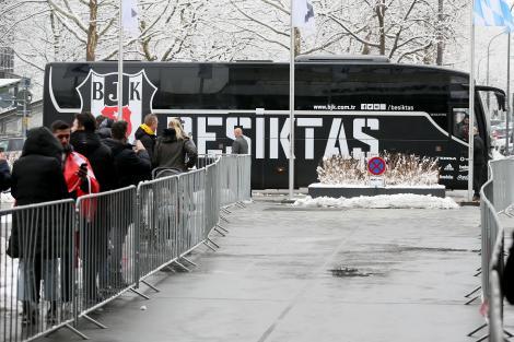 Beşiktaş, Almanya'da böyle karşılandı