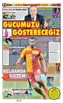 Galatasaray gazete manşetleri - 22 Şubat