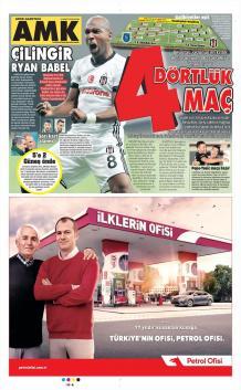 Beşiktaş gazete manşetleri - 18 Mart