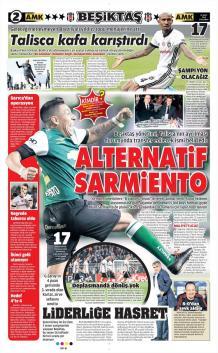 Beşiktaş Manşetleri (21 Mart)