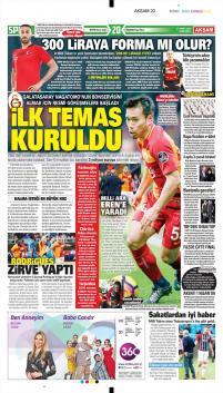 Galatasaray Manşetleri (21 Mart)