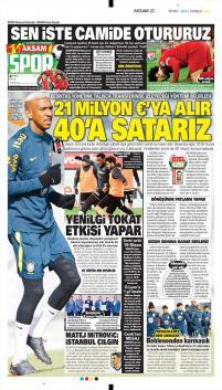 Beşiktaş Manşetleri (22 Mart)