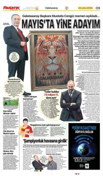 Galatasaray Manşetleri (22 Mart)