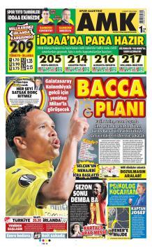 Galatasaray gazete manşetleri - 23 Mart