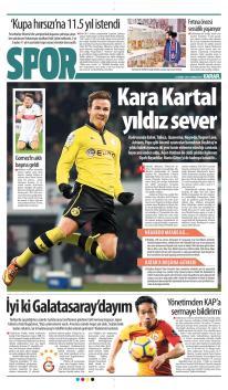 Beşiktaş gazete manşetleri - 24 Mart