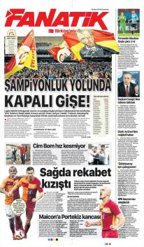 Galatasaray gazete manşetleri - 24 Mart