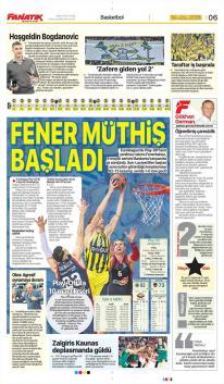 Beşiktaş gazete manşetleri - 19 Nisan