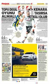 Fenerbahçe gazete manşetleri - 19 Nisan