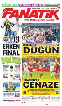 Galatasaray gazete manşetleri - 19 Nisan