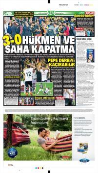 Beşiktaş Manşetleri (20 Nisan)