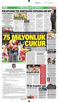 Galatasaray Manşetleri (20 Nisan)