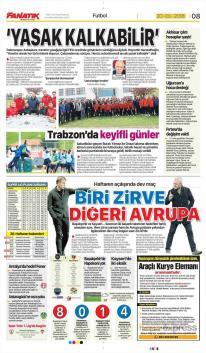 Trabzonspor Manşetleri (20 Nisan)