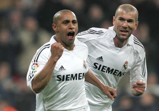 Roberto Carlos'tan Zidane için yeşil ışık…