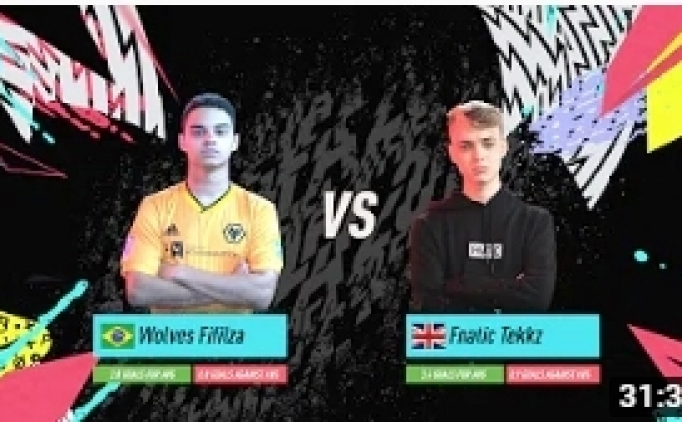 FIFA 20 FUT Grand Final - Tekkz vs Fifilza7 Videosu