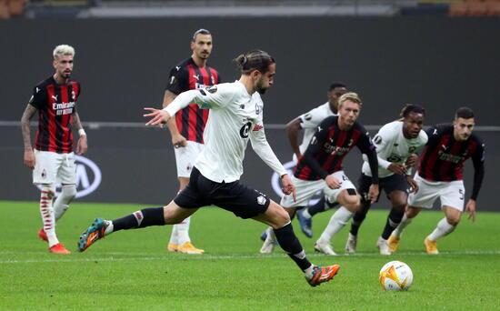 Yusuf Yazıcı'nın gollerini izle! ÖZET İZLE: Milan 0-3 Lille Yusuf Yazıcı Hat -trick