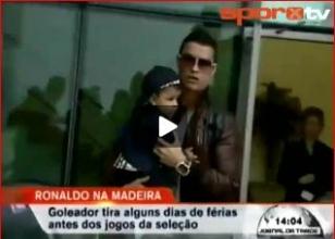 İşte Cristiano Ronaldo'nun çocuğu!