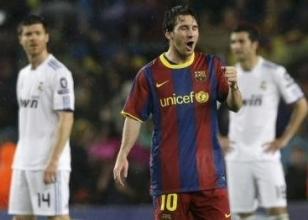 El Clasico'ya Barcelona ve Messi damgas�