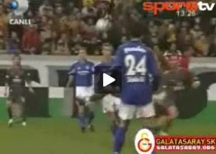 VİDEO - G.Saray formasıyla attığı o gol!
